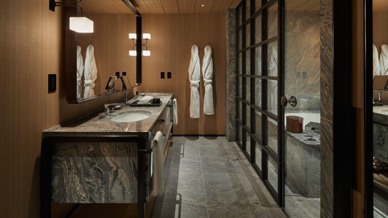 Park Hyatt Kyoto | Pagoda House Bathroom