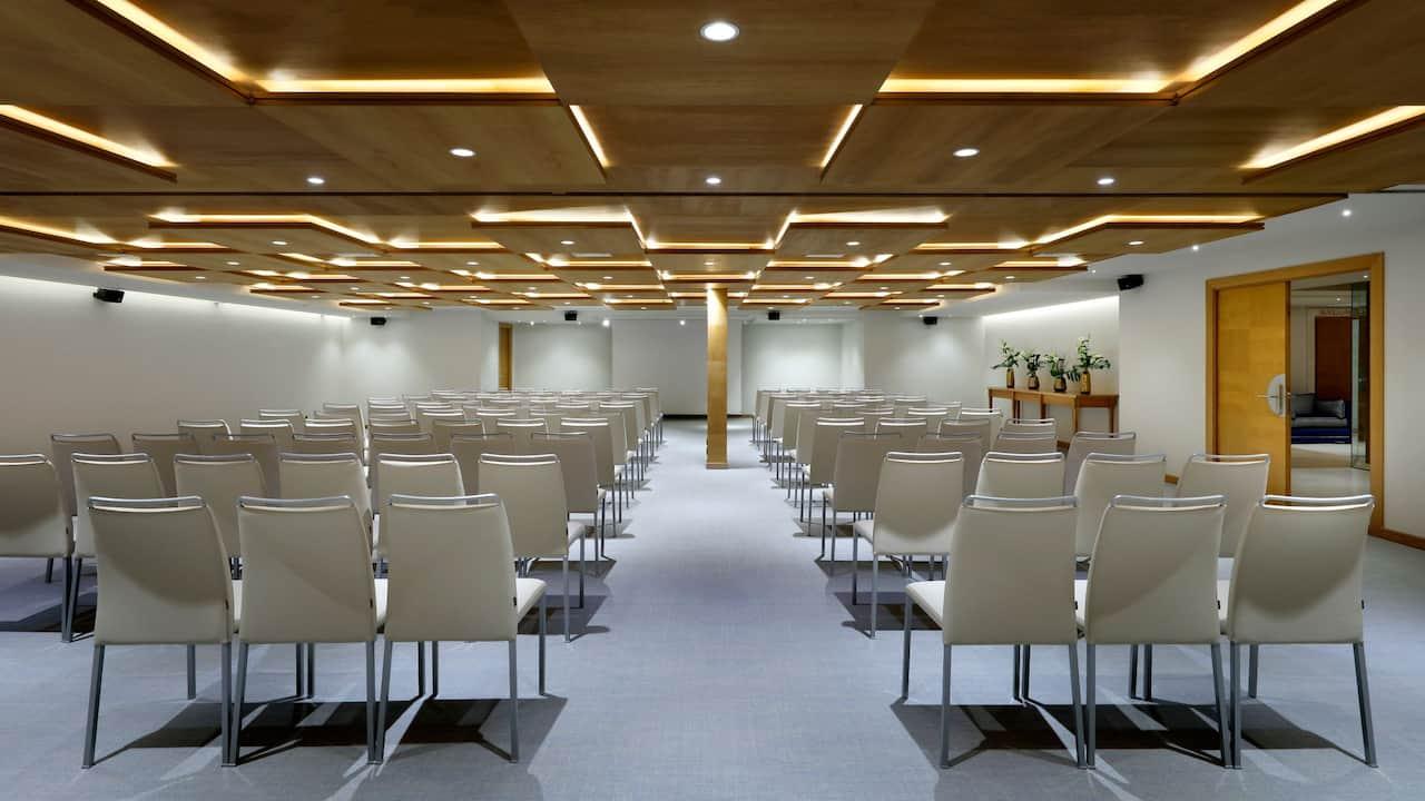 Saura Meeting Room Theater Setup