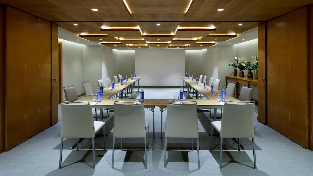 Chillida Meeting Room Ushape Setup