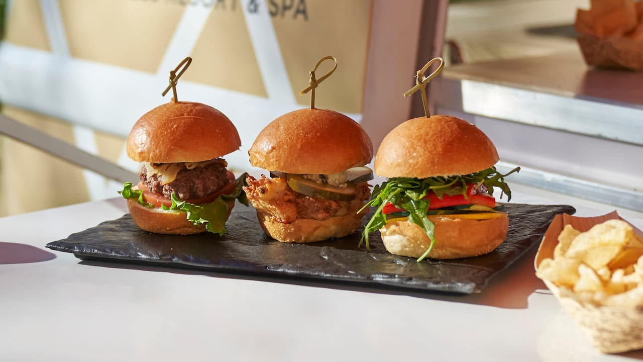 Group Culinary Sliders