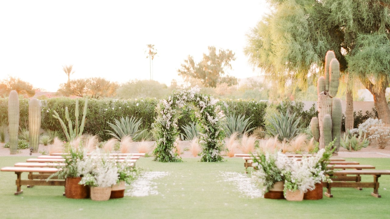 Weddings Cholla Lawn
