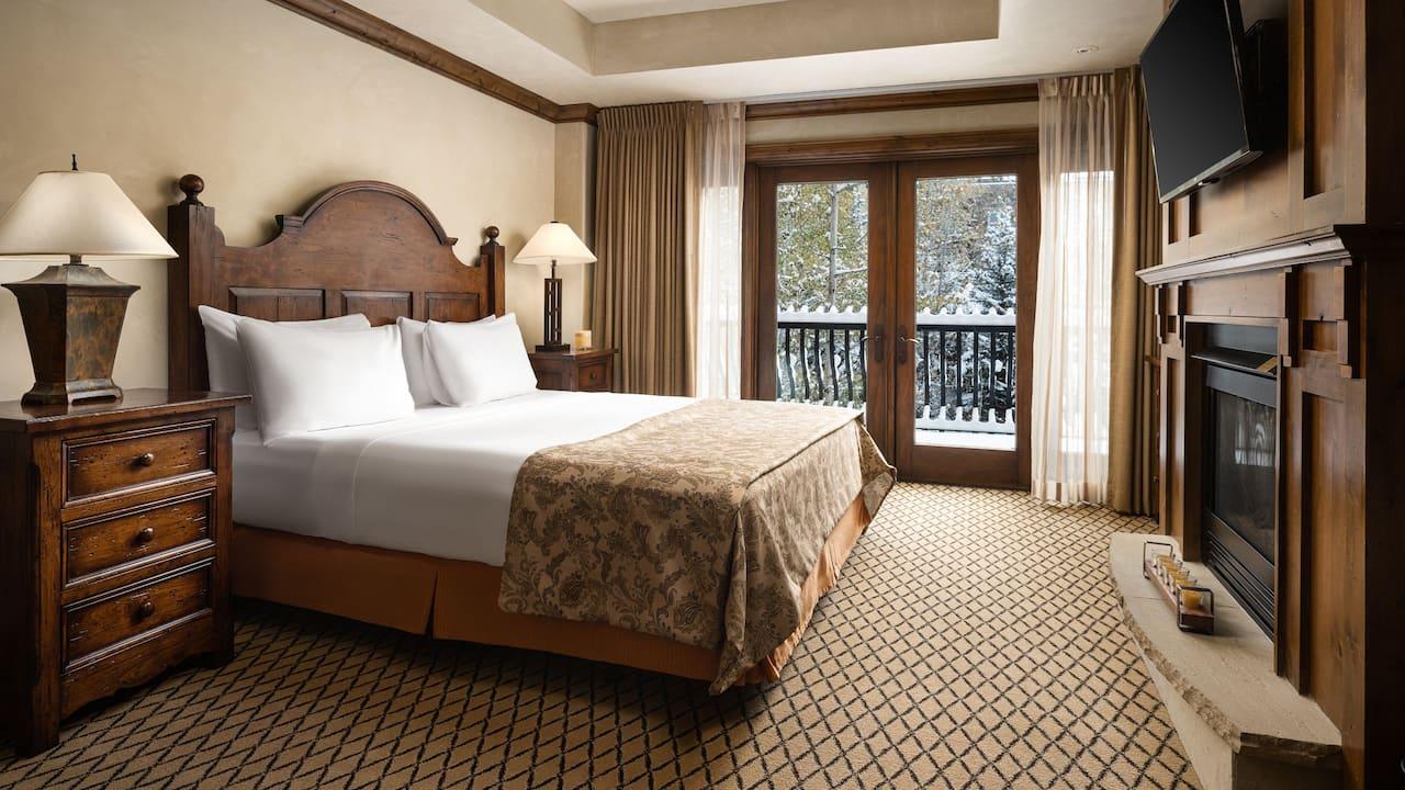 One Bedroom of Two Bedroom Suite