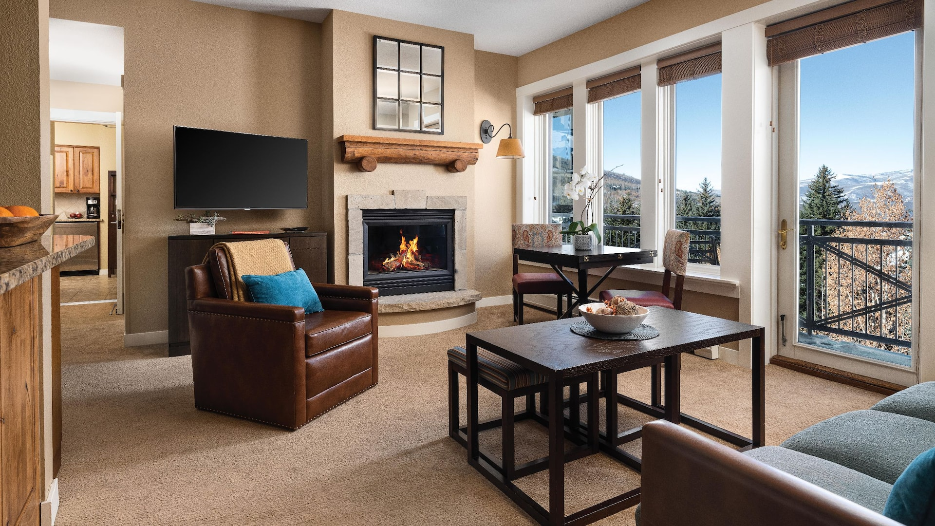 Two Bedroom Living Area