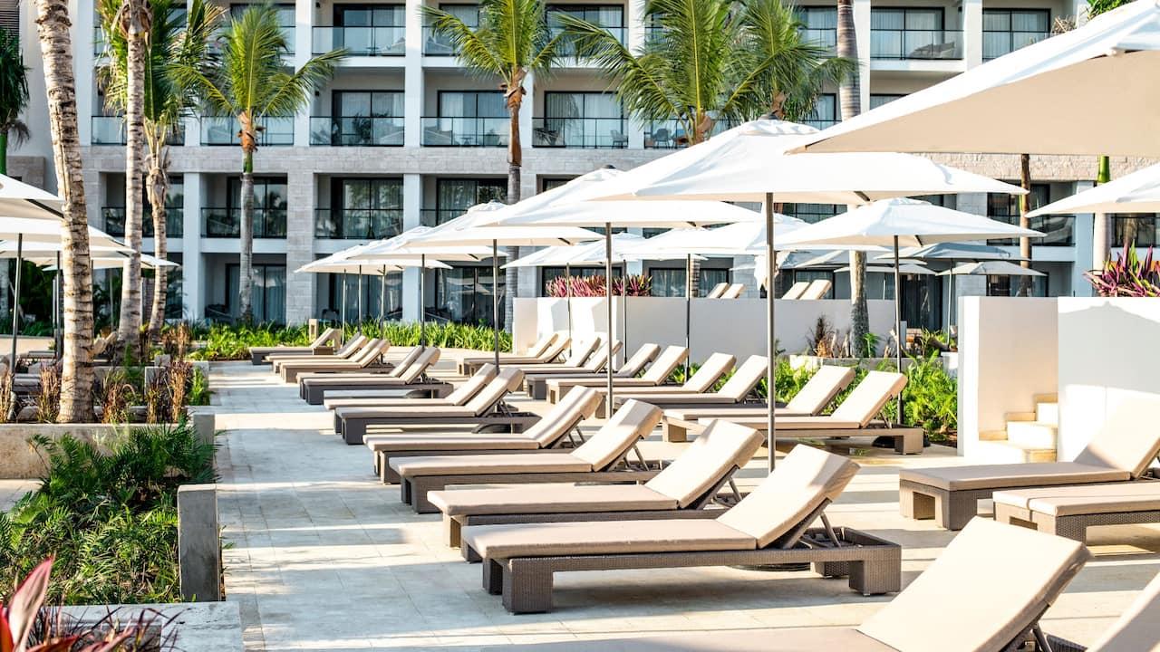 Hyatt Zilara Cap Cana - Beach Lounges