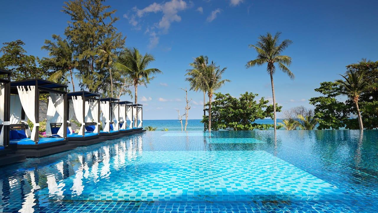 5-star Phuket Hotel in Kamala Beach Infinity Pool