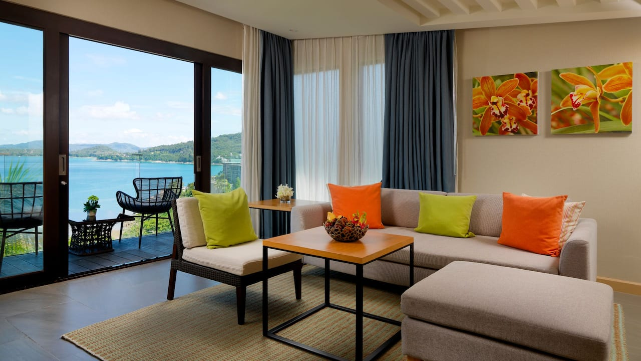 5-star Phuket Hotel in Kamala Beach Ocean View Room