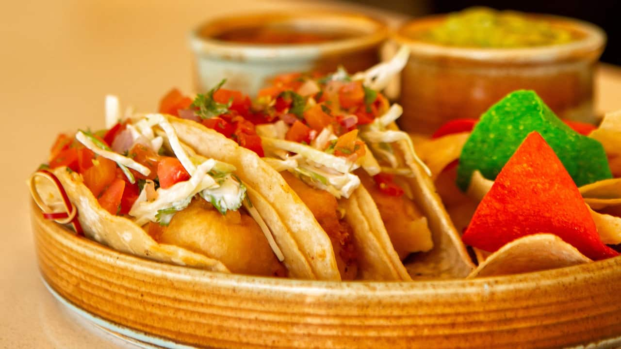 SHOR Fish Tacos