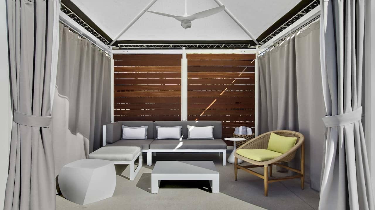 Inside Cabana
