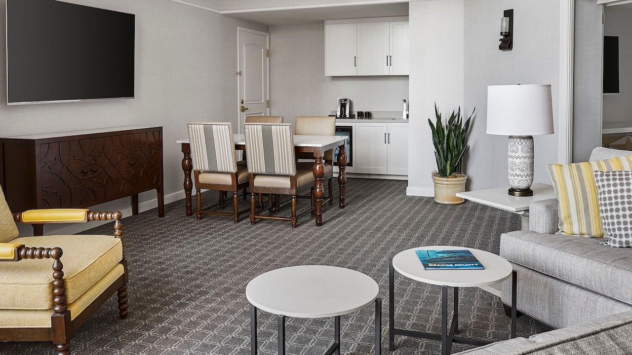 Huntington Suite Living Area