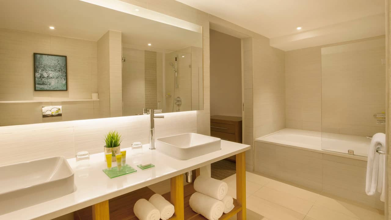 Large King Suite Bathroom