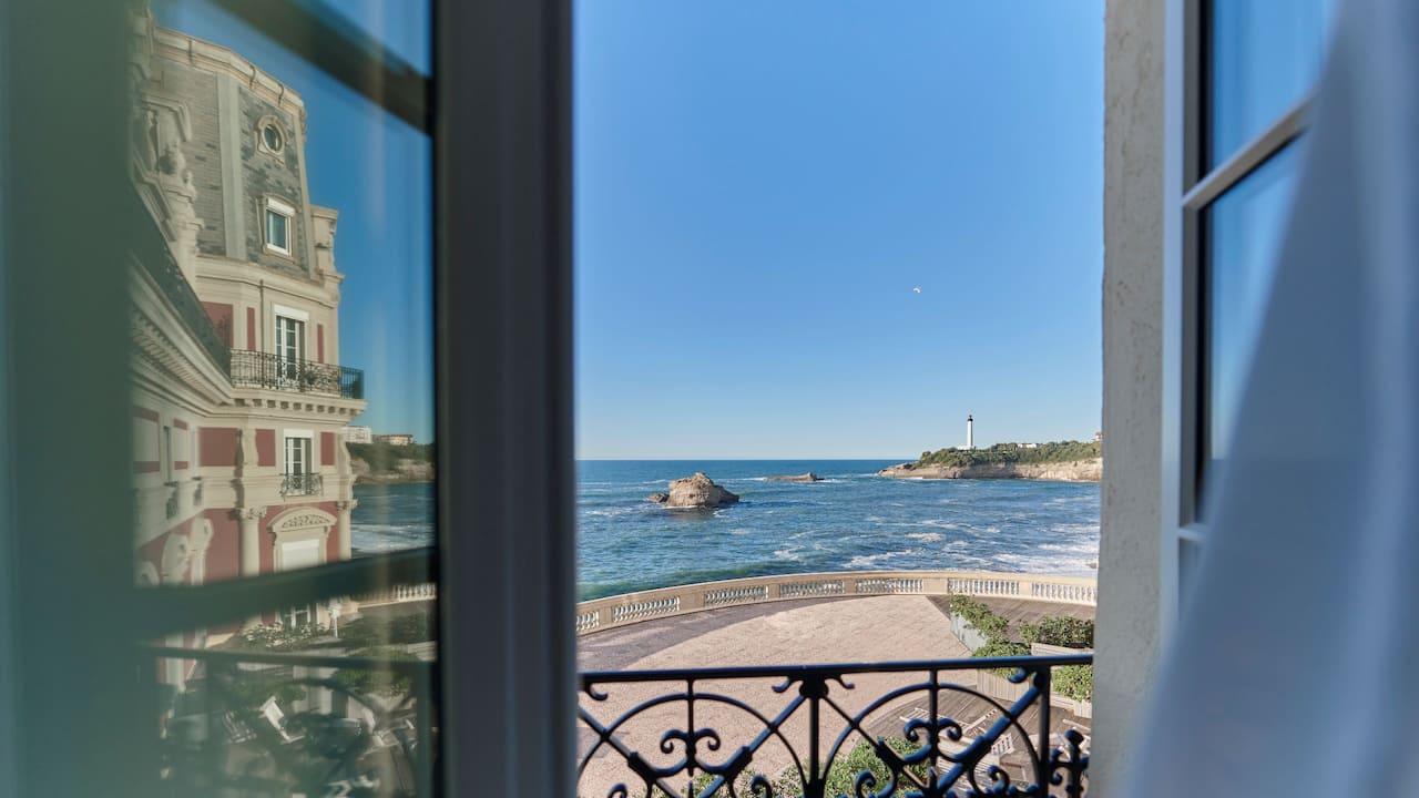 Hotel du Palais - View