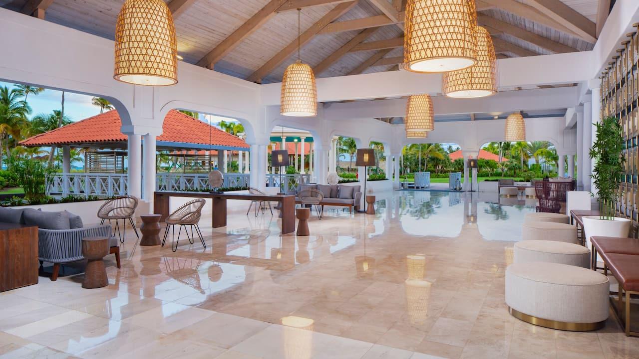 Evening Lobby