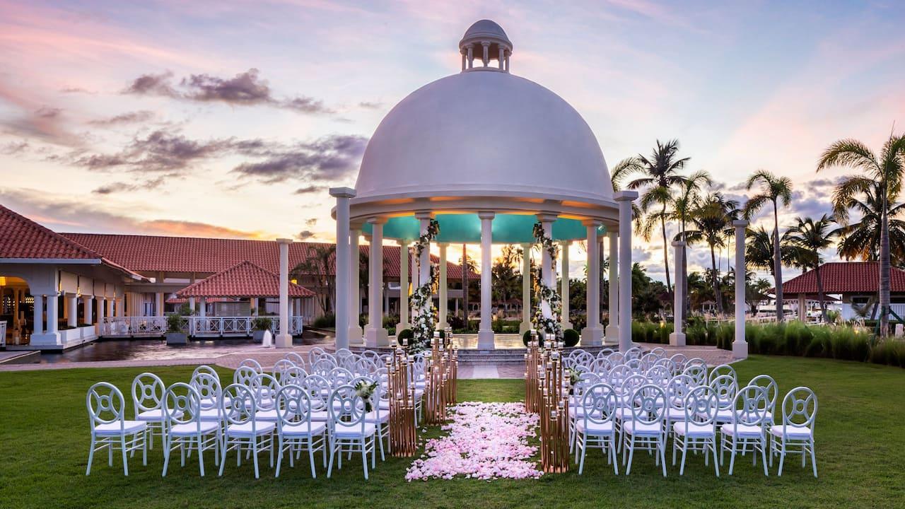 Wedding ceremony at Hyatt Regency Grand Reserve