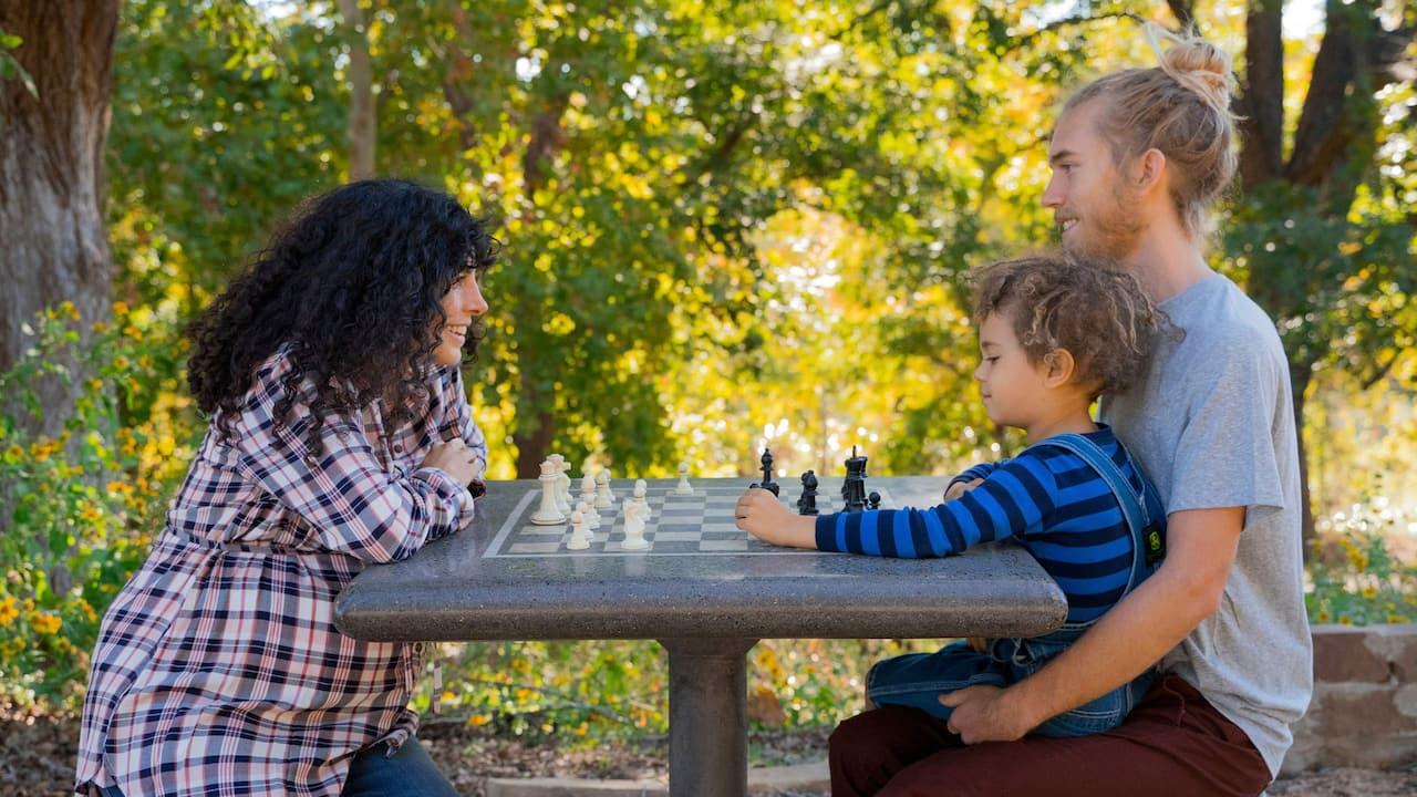 Hyatt Regency Family Playing Chess