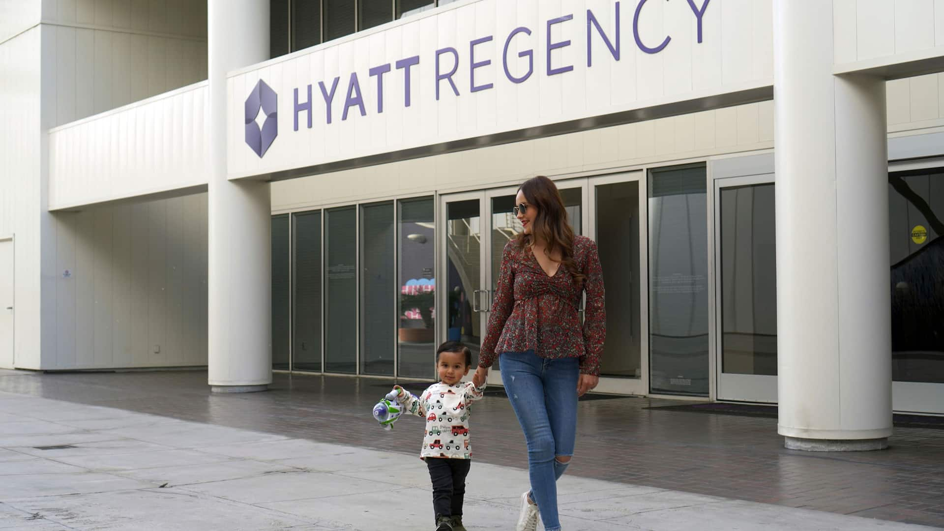 Hyatt Regency Entrance