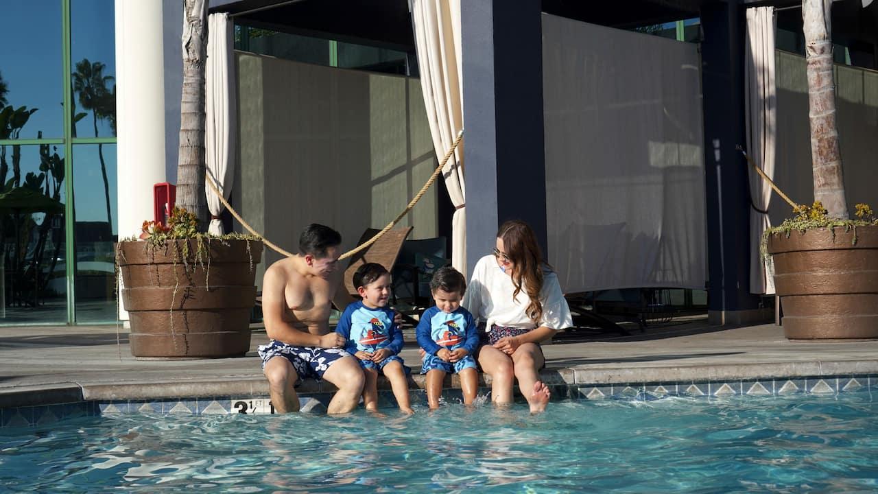 Outdoor Pool Hyatt Regency Long Beach