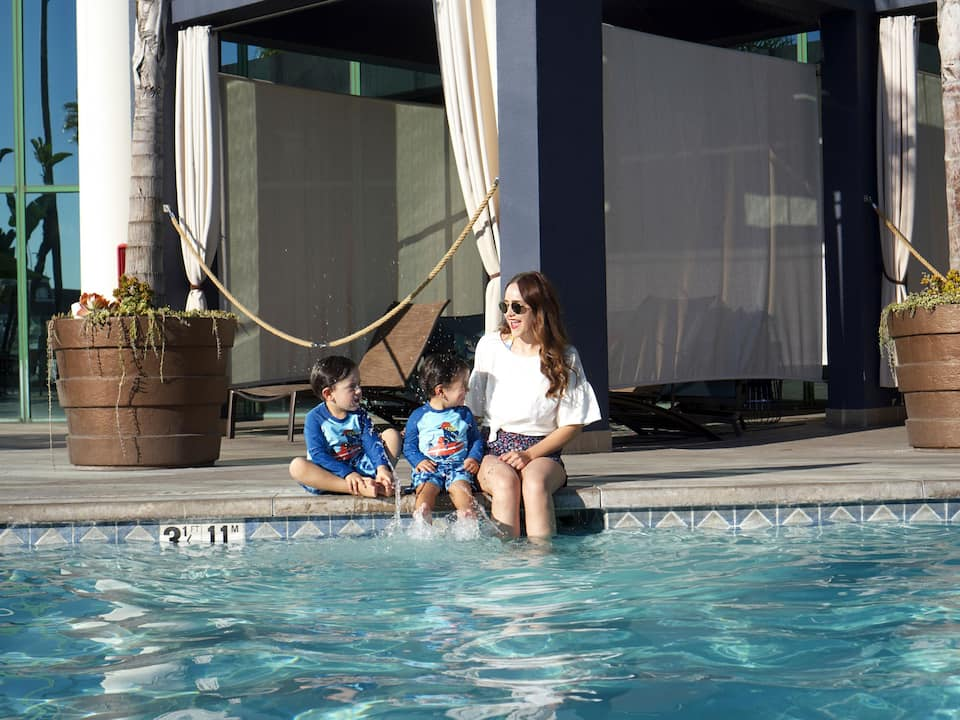 Mother and Children pool