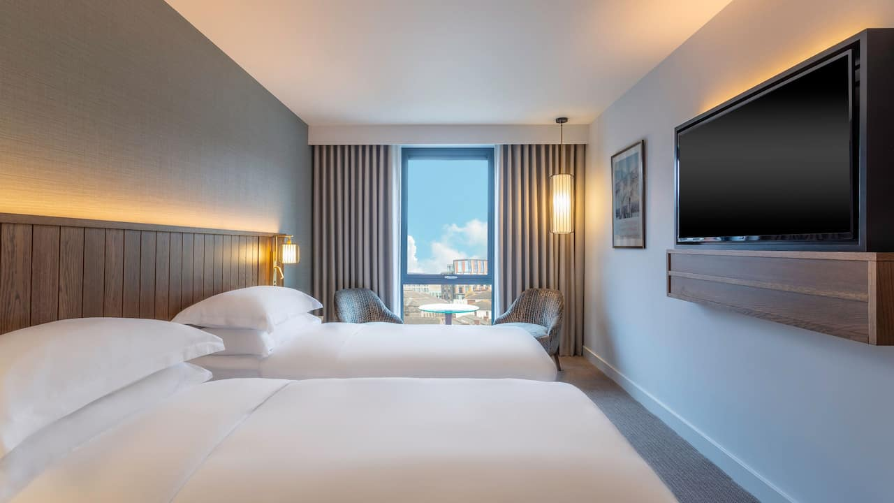 Hyatt Centric The Liberties Dublin Twin Room