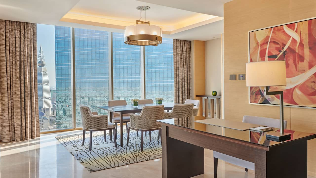 prince suite dining