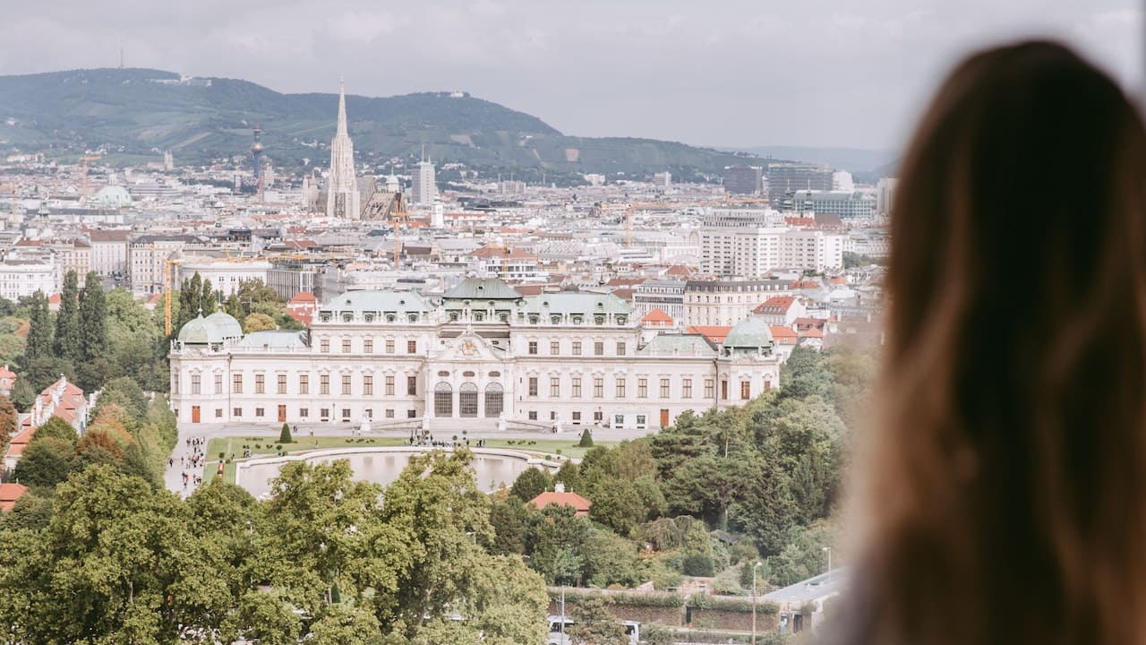 Belvedere Palace View
