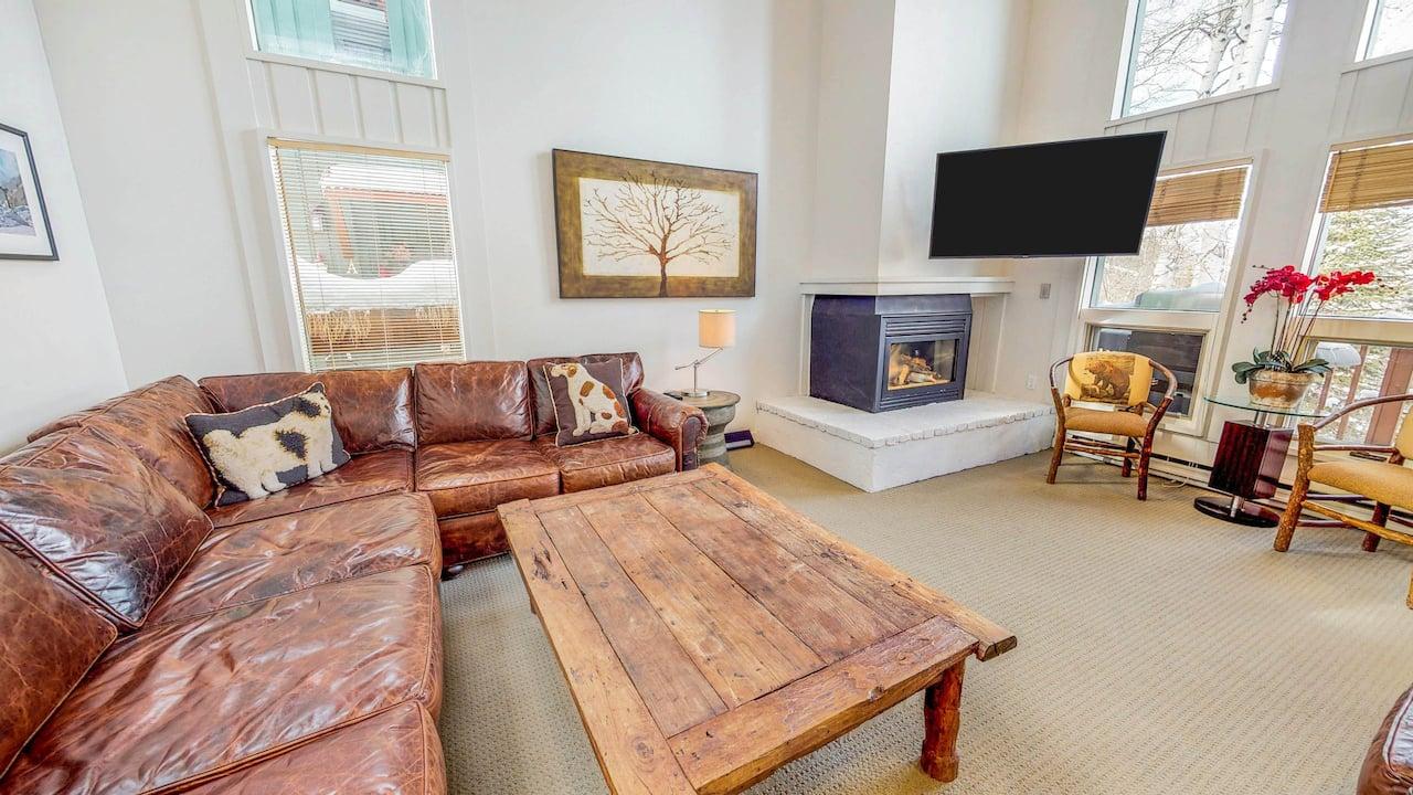 Three Bedroom Duplex Living Room