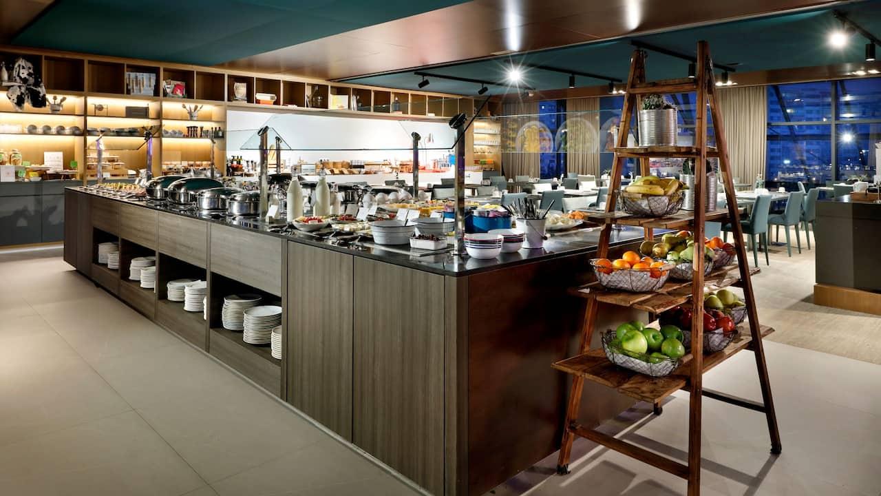 Hyatt Regency Barcelona Azimut Restaurant