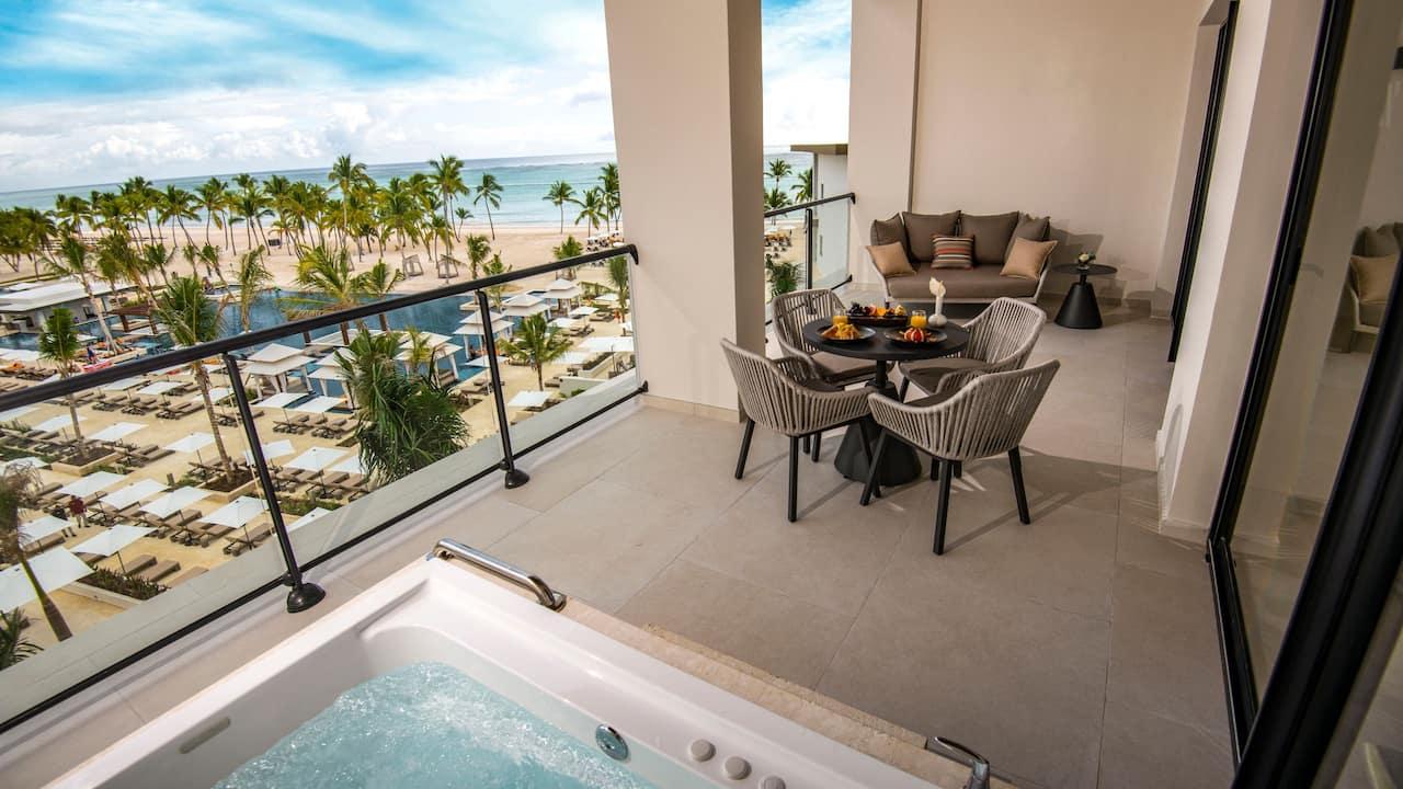 Hyatt Zilara Cap Cana - Ocean View One Bedroom Suite Balcony