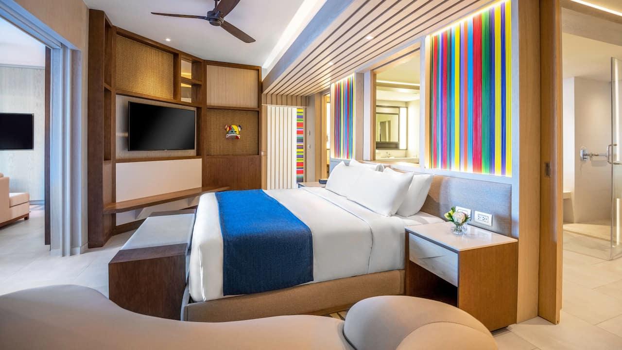 Hyatt Zilara Cap Cana - Ocean View One Bedroom Swim Up Suite Room