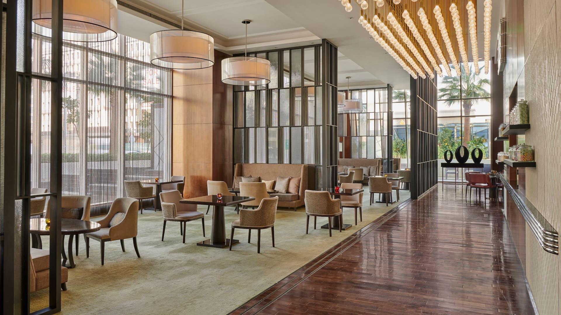 Tea Lounge in Hyatt Regency Riyadh