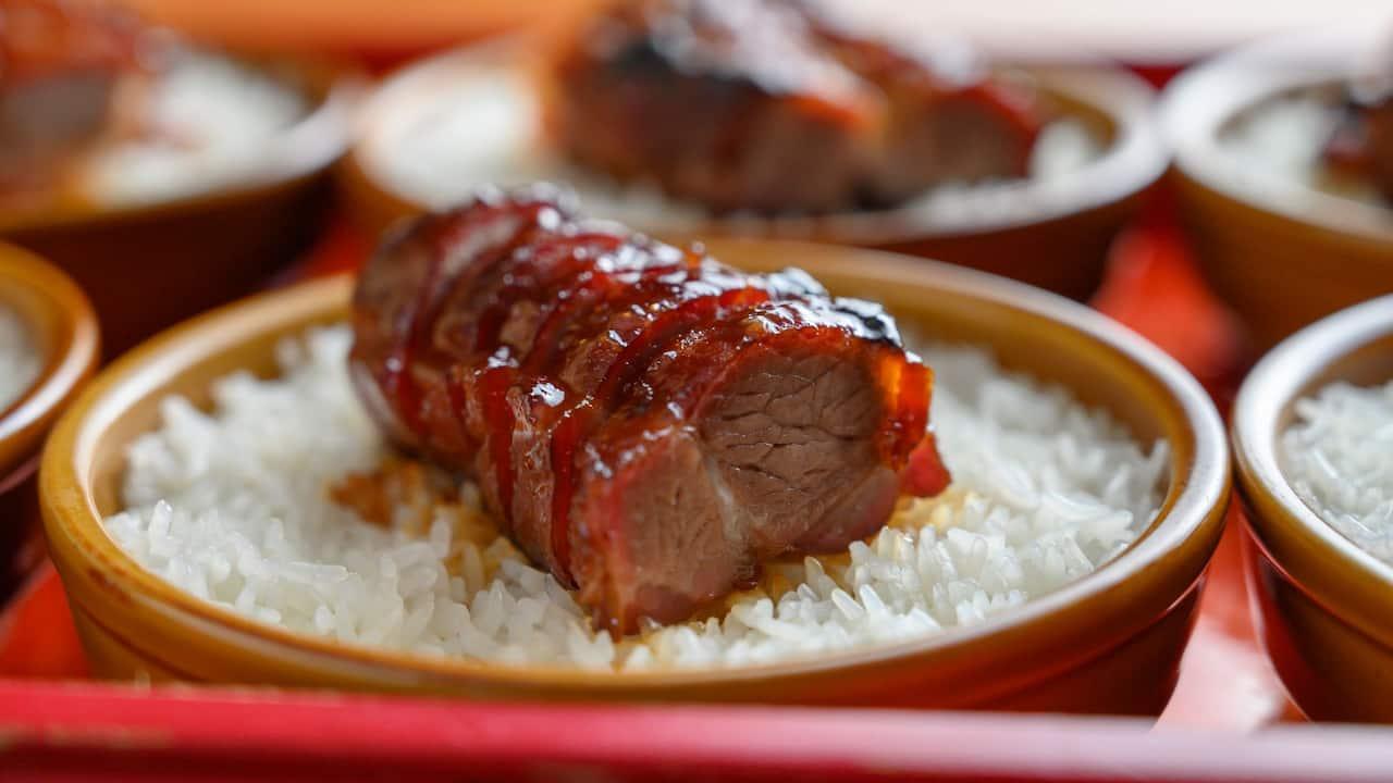 Sha Tin 18 Barbecued Pork Lard Rice