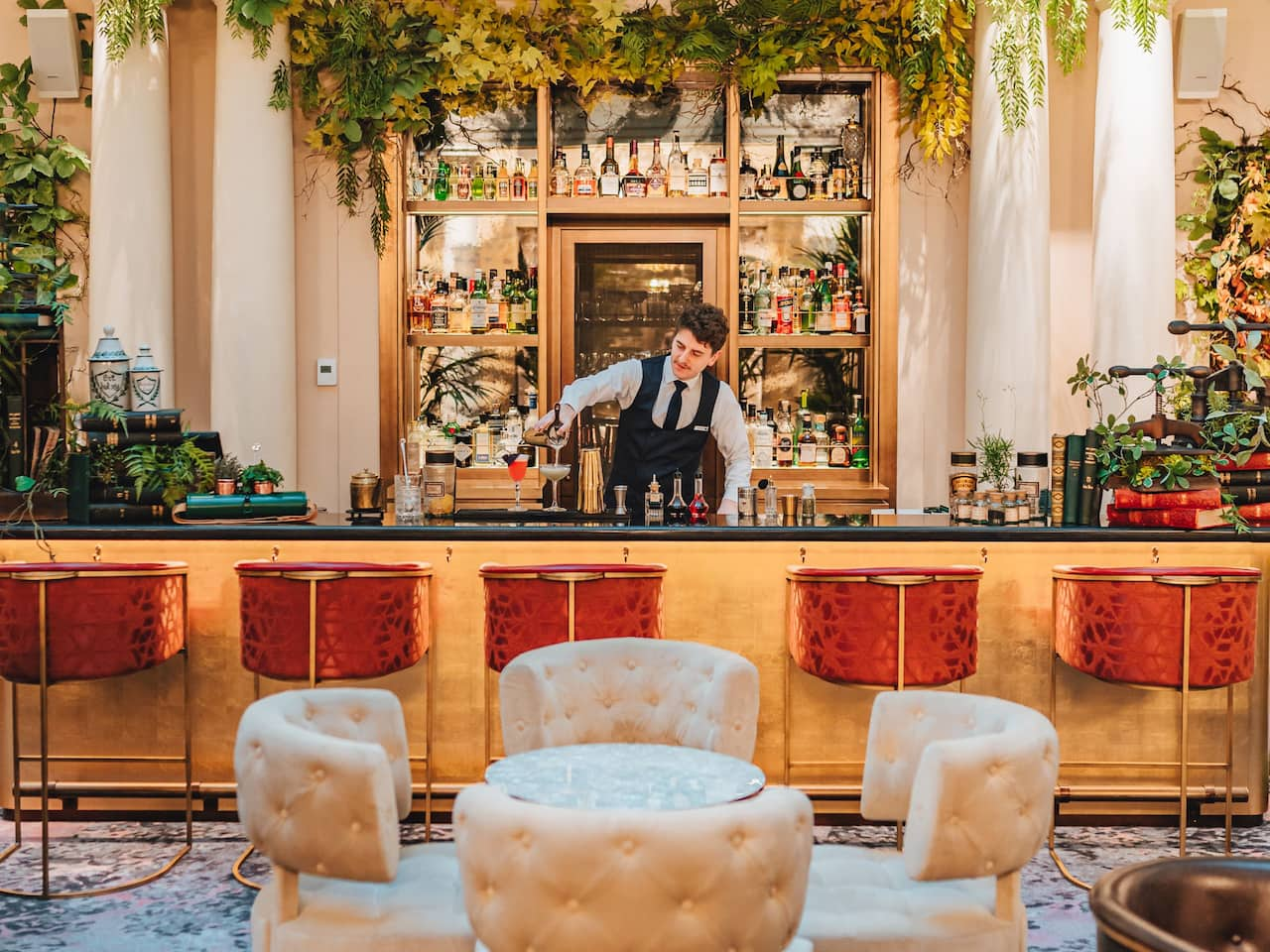 Le Bar à l'Hôtel du Louvre by Hyatt à Paris