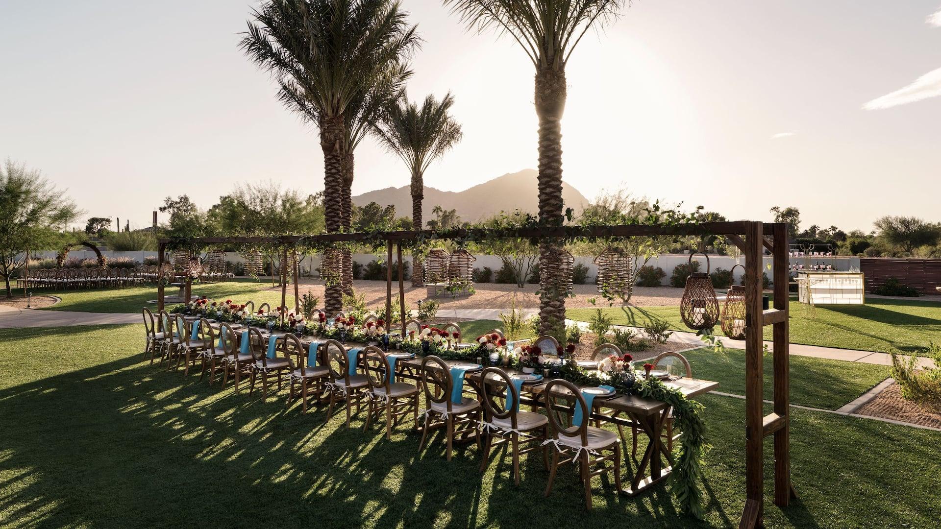 Albers Lawn Reception