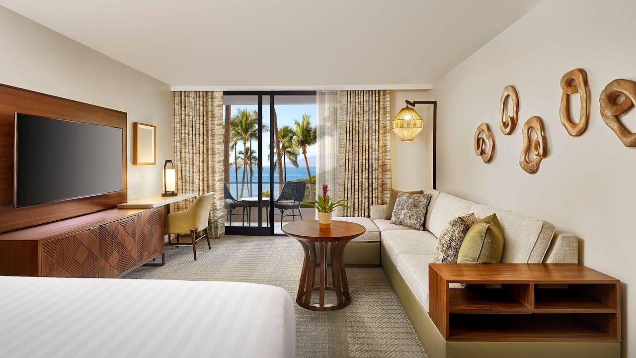 Room with King Bed Oceanfront Hyatt Regency Maui Resort and Spa