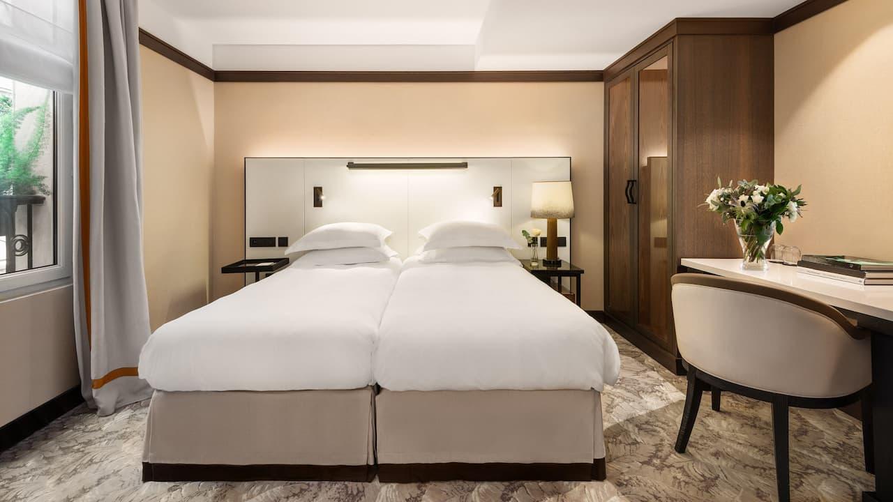 Twin Room at Hotel Hyatt Paris Madeleine