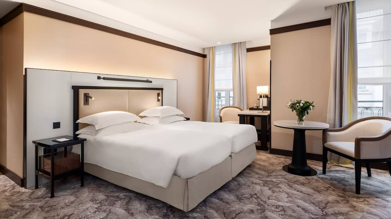 Twin Room at Hotel Hyatt Paris Madeleine