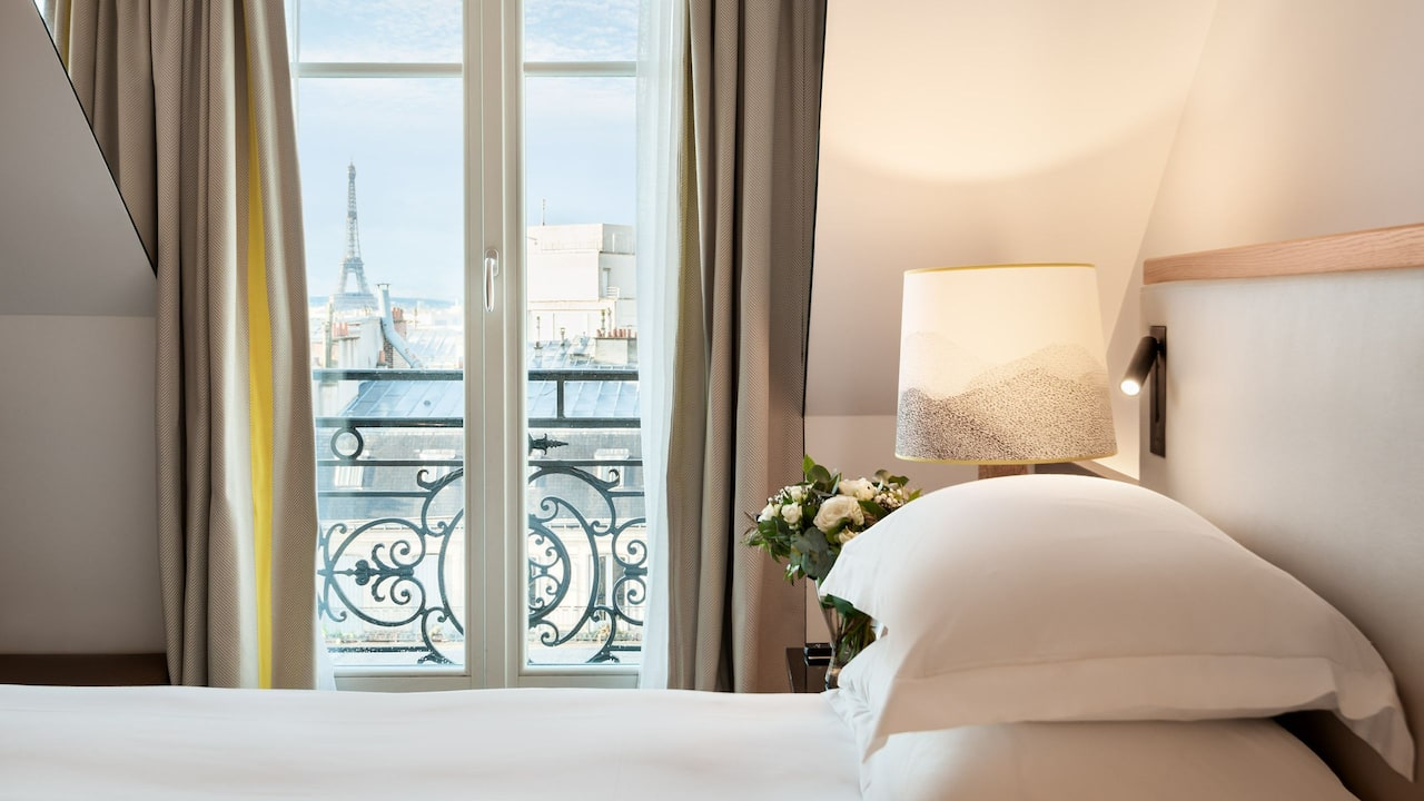 Presidential Suite View at Boutique Hotel Hyatt Paris Madeleine