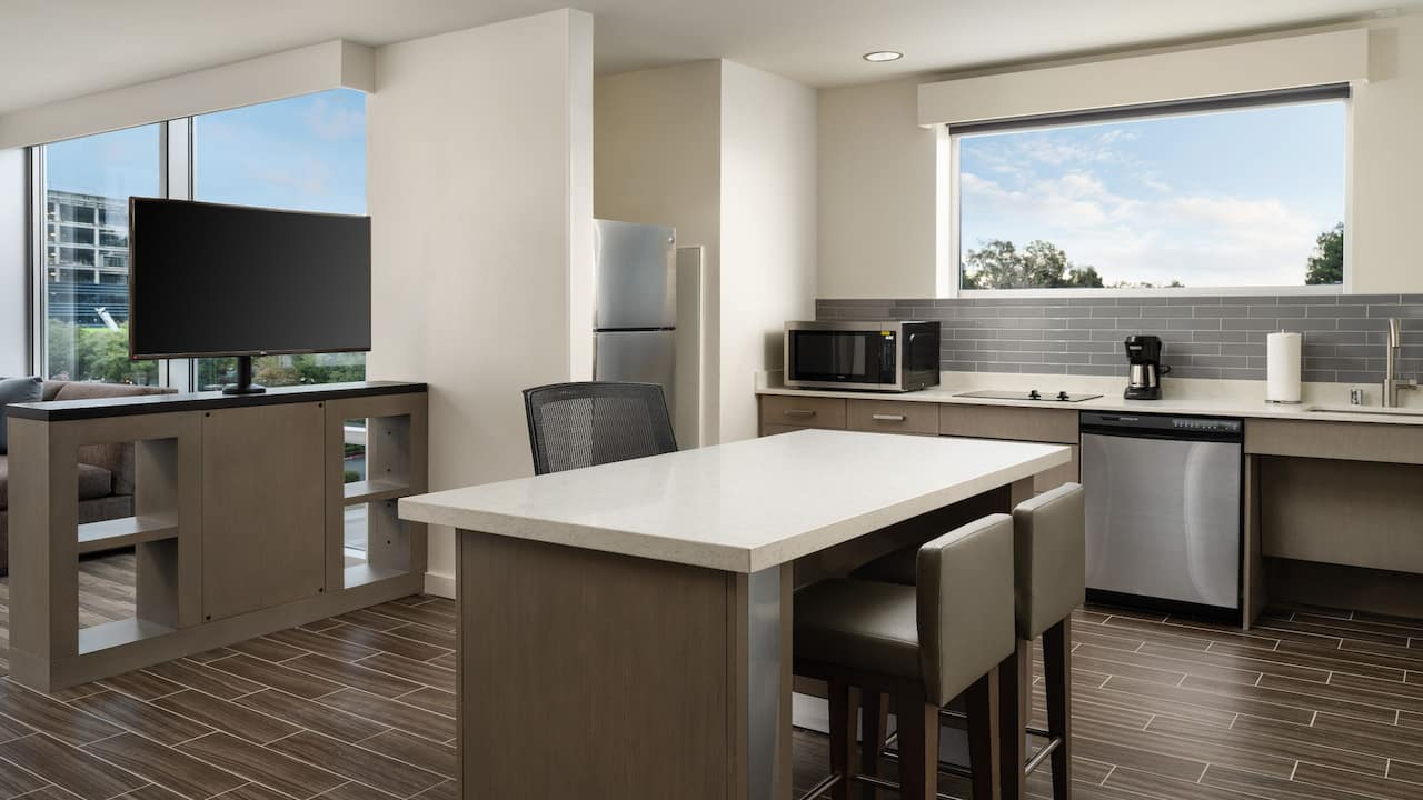 One Bedroom Suite Kitchen