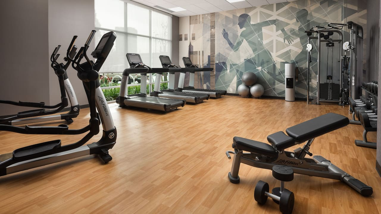 Hyatt House San Jose Airport Fitness Center