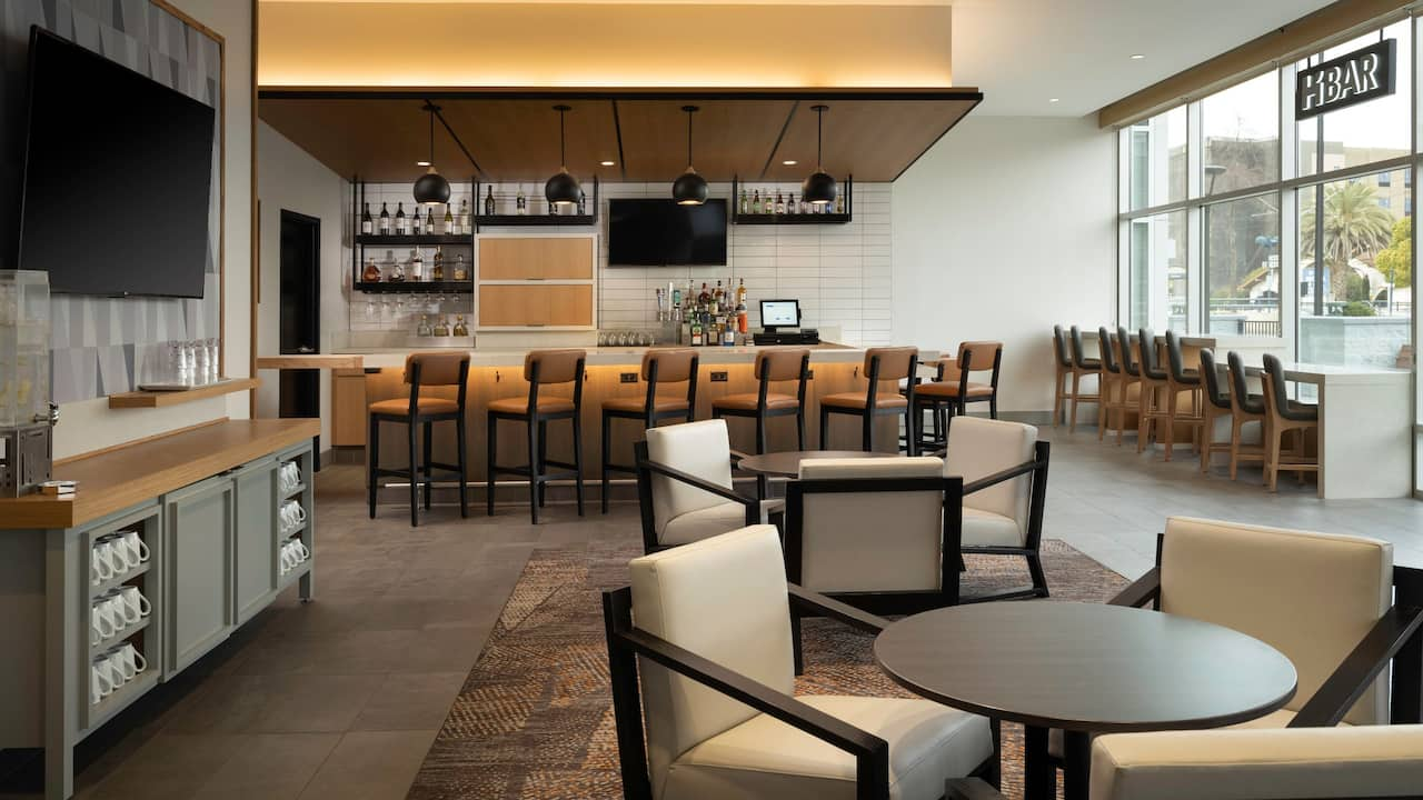 H Bar at Hyatt House San Jose Airport