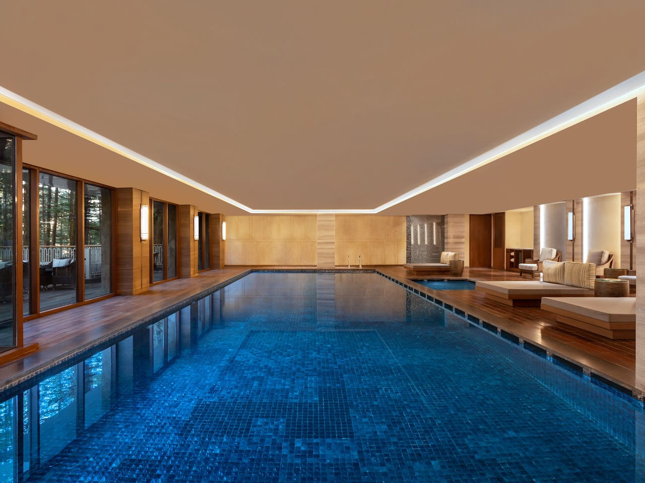 Indoor Heated Swimming Pool- Hyatt Regency Dharamshala Resort