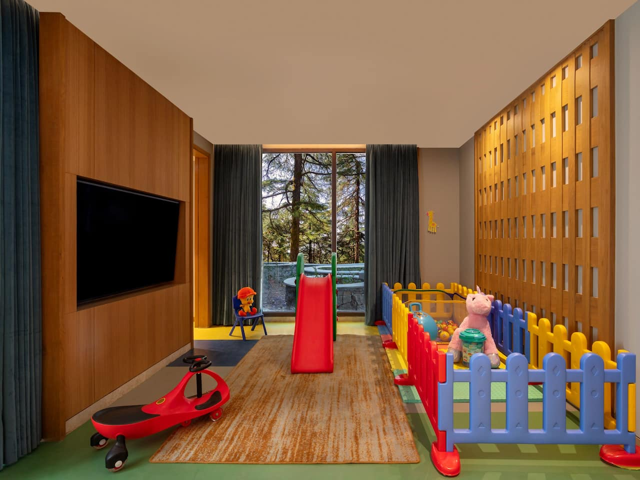 Camp Hyatt Kids Play Area - Hyatt Regency Dharamshala Resort
