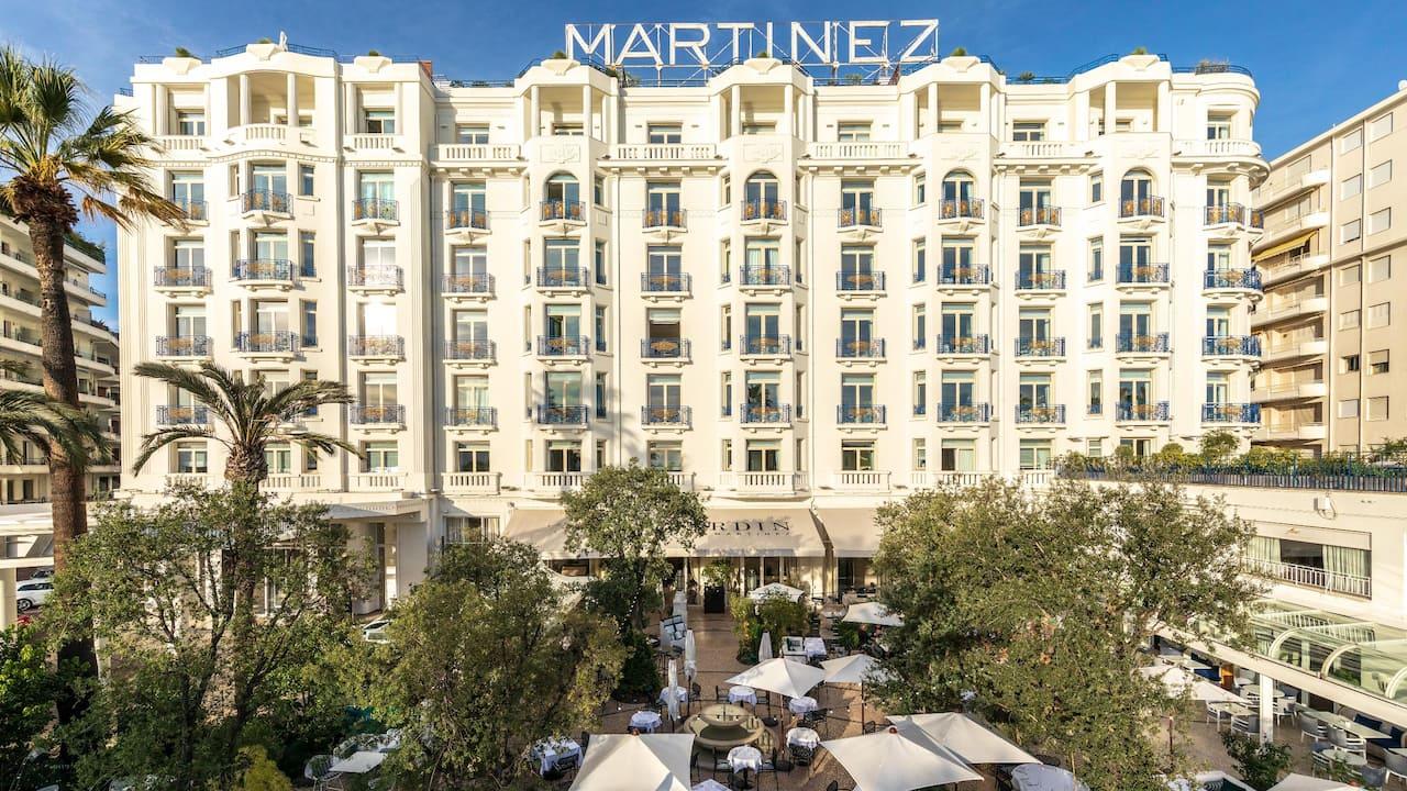 Green Globe Certification at Hyatt Hôtel Martinez in Cannes
