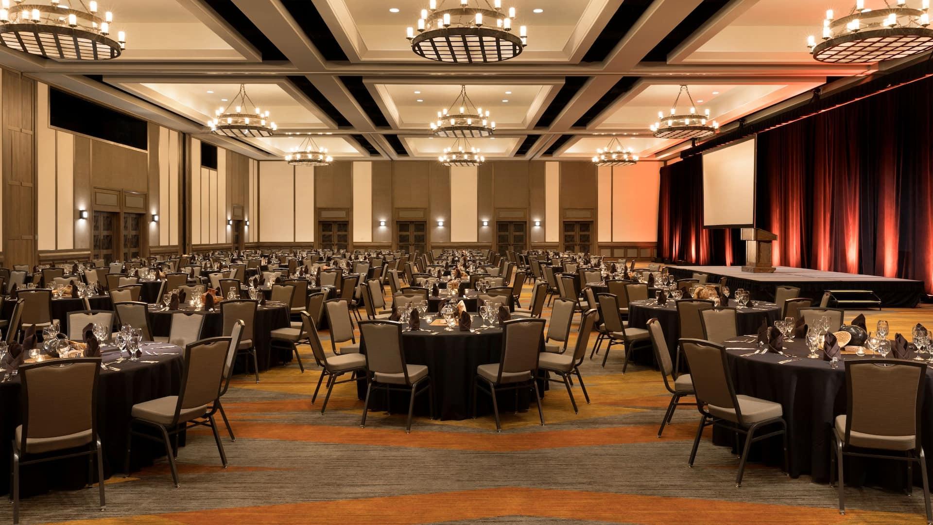 Ballroom Hyatt Regency Tamaya Resort & Spa