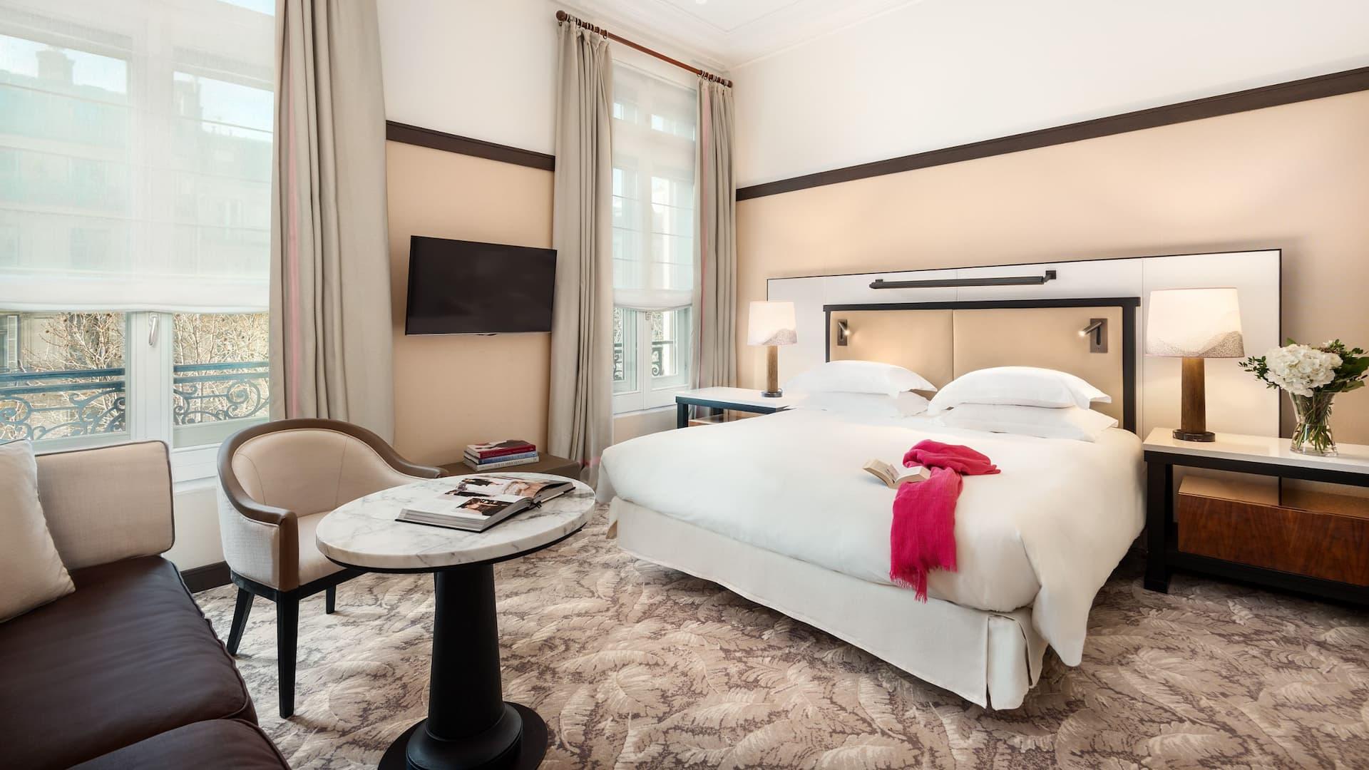 Junior Suite at Hyatt Paris Madeleine