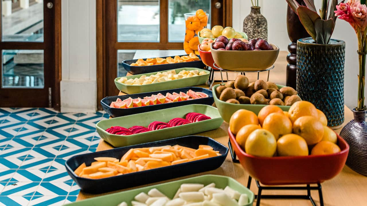 Breakfast Buffet Fruits