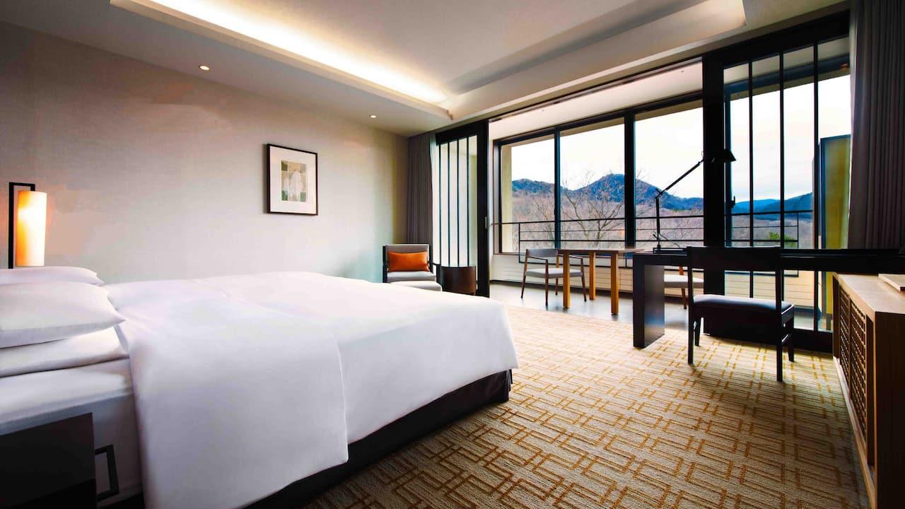 ゲストルーム ツイン | ハイアット リージェンシー 箱根 リゾート&スパ