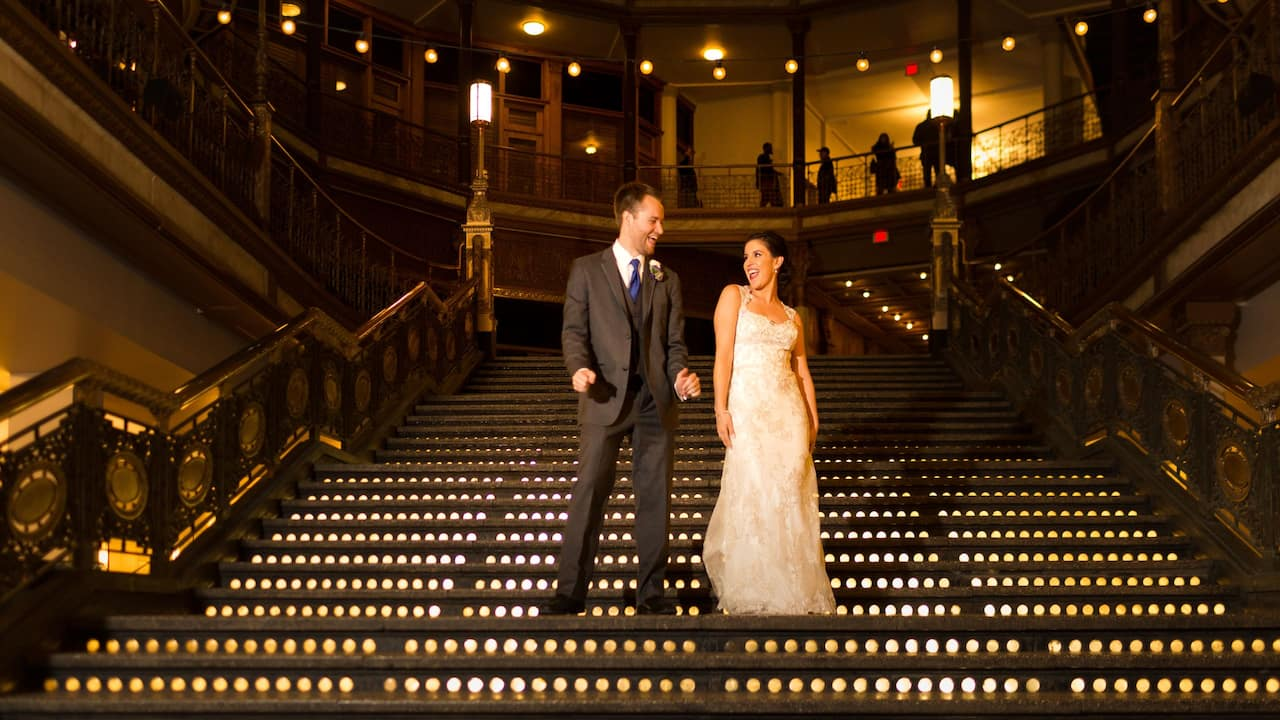 Cleveland Wedding Venue– Hyatt Regency Cleveland
