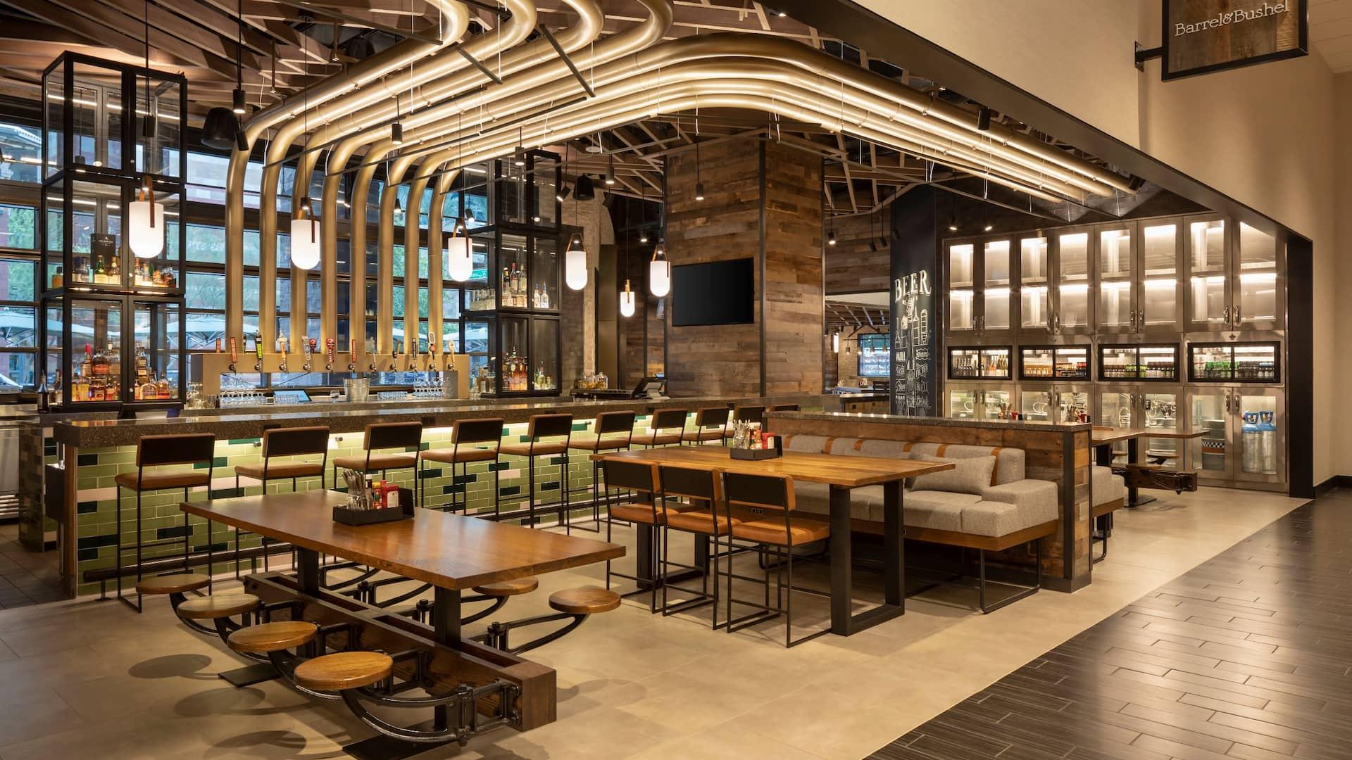 Barrel and Bushel bar and restaurant