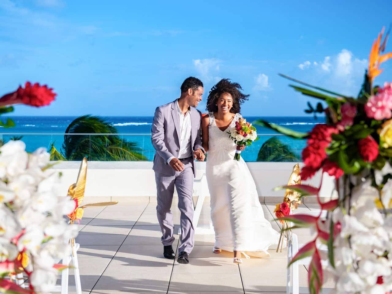 Hyatt Zilara Cap Cana Oceanfront Wedding