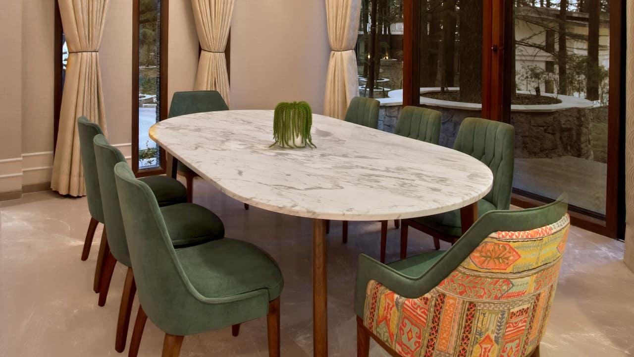 Shantivilla Dining Room